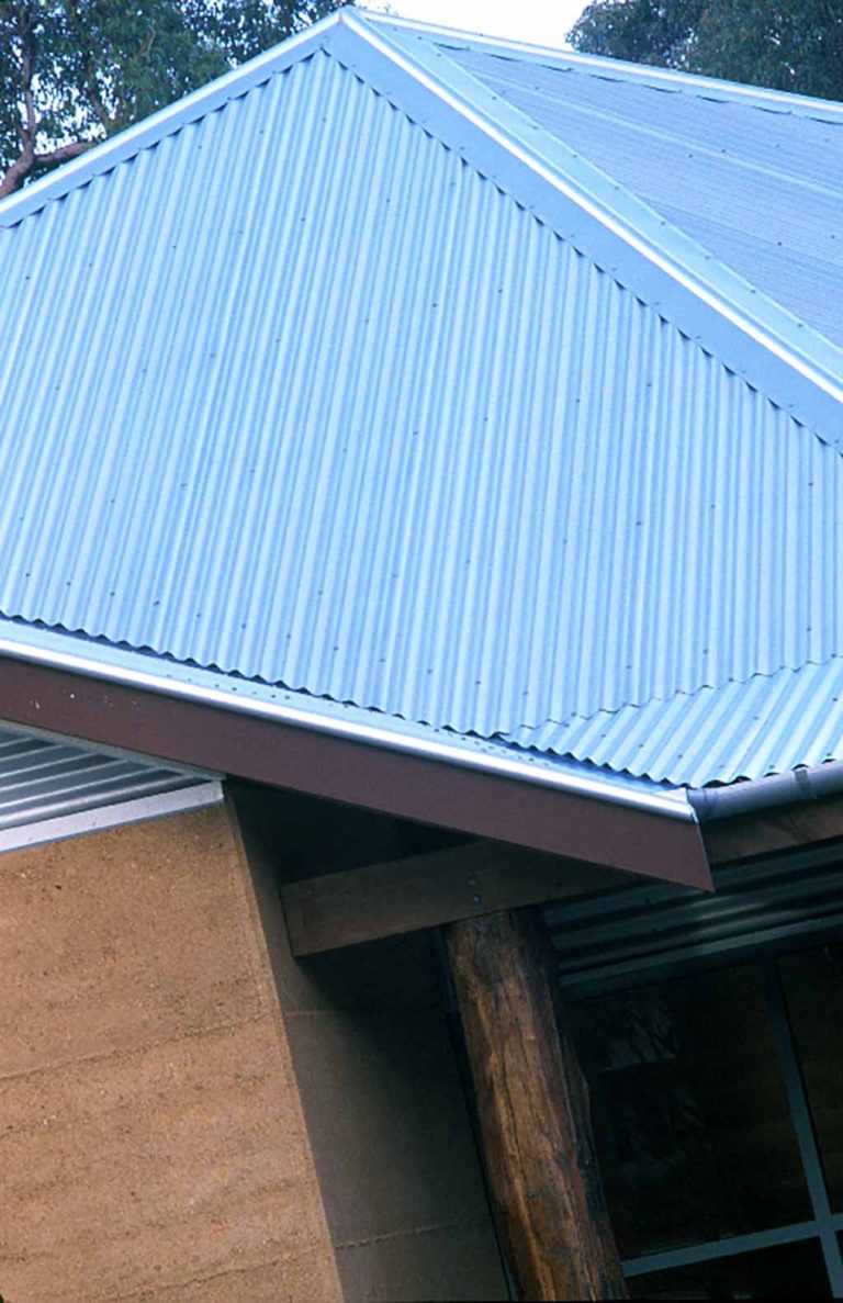 Roof with Eaves