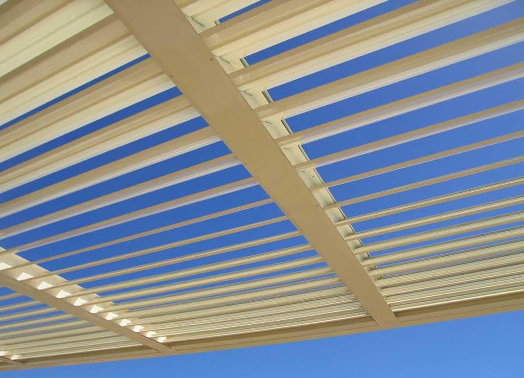 Passive Solar Design Angled Louvres