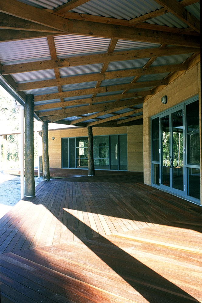 Timber Decking and Beams in Northcliffe